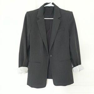 Express Gray Blazer Size 10